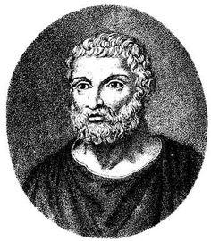Ο Θαλής, γύρω στο 580 π.Χ., στην περιοχή της Μιλήτου… «Κοιτάζει τα άστρα, αλλά δεν ξέρει καν τι υπάρχει πάνω στη γη!…