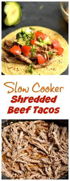 Deliciously flavored and spiced beef that pulls apart in your slow cooker!
