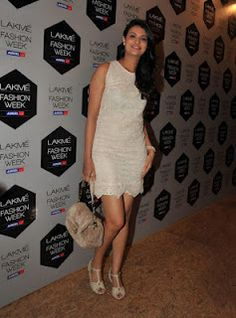 Bollywood Celebrities at Lakme Fashion Week 2012.   Bollywood Cleavage