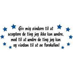 Danske citater og tekster - Vi har et stort udvalg af Danske wallsticker citater til væggen - mange forskellige til både børnevæ