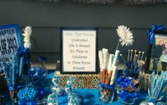 Candy Buffet and sign