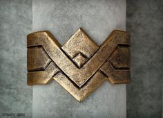 Wonder Woman Cosplay Armband by ArmoryRasa on Etsy