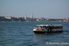 Vaporetto and Zattere as seen from Giudecca