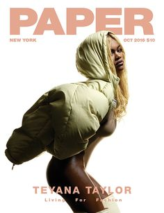 Teyana Taylor Poses Nude for 'Paper' Magazine, Talks 'Fade' Video Fame: 'It Was a Do-or-Die Moment'