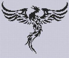 Phoenix 2 Cross Stitch Pattern  | Craftsy