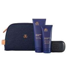 "The perfect set for a clean and confident man. Comes with a brand new charcoal Soap Bar (net wt. 5 oz.) that invigorates with spicy notes of turmeric and bergamot, as well as a full size of the RE9 Advanced® for Men Shave Cream (5 fl. oz.) and After-Shave Soothing Lotion (3 fl. oz.). The soap bar's formula contains activated charcoal powder derived from bamboo to deep clean pores, and aloe vera to provide soothing effects. Comes with a dopp kit (8.25"" x 6"" x 2.75"").Due to the n..."