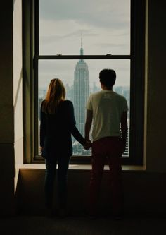"""""""I told ya I'd take you to New York,"""" he said as they looked out the window at the towering Empire State Building. """"And now we're here,"""" she whispered. The boy smiled and held her hand. """"And now we're here."""""""