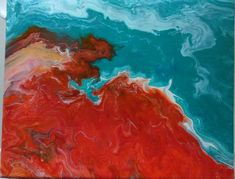 Acrylic pouring 2 Acrylic Pouring, Painting, Painting Art, Paintings, Painted Canvas, Drawings