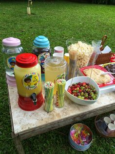 Fun Sleepover Ideas, Mickey Mouse Birthday, Lucca, Birthday Parties, Table Decorations, Flora, Party, Picnic Birthday, House Party