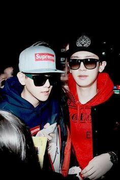 Baekyeol got swag for days.