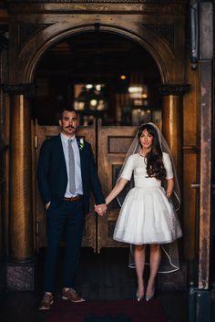 Vintage-inspired indie wedding