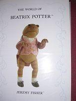 The World Of Beatrix Potter: Jeremy Fisher (Knitting Pattern) by Alan Dart, http://www.amazon.co.uk/dp/B000OYZ55W/ref=cm_sw_r_pi_dp_UeNitb1H9PCW2
