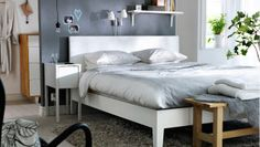 IKEA offers everything from living room furniture to mattresses and bedroom furniture so that you can design your life at home. Check out our furniture and home furnishings! Rooms Ideas, Room Ideas Bedroom, Home Bedroom, Bedroom Furniture, Bedroom Decor, Bedroom Carpet, Ikea Furniture, Ikea Bedroom Design, Bedroom Storage