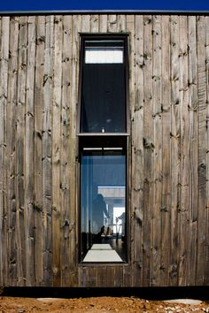 Shiplap Cladding / Black Aluminium Window