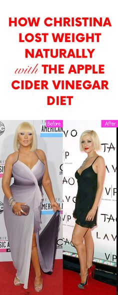 How Christina Lost Weight Naturally with the Apple Cider Vinegar Diet