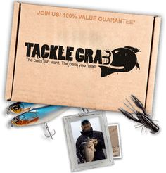 Tackle grab monthly subscription box for the fisherman in for Monthly fishing box