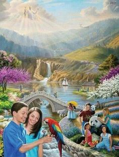 Paradise ON Earth... Jehovah's promise to us