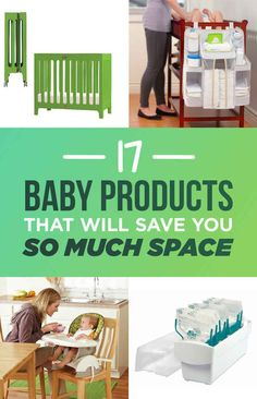 17 Baby Products That Will Save You So Much Space