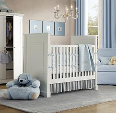Classy and simple boys nursery