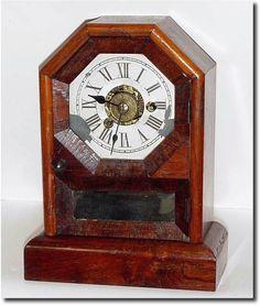 "Antique Clocks   Antique Seth Thomas ""Octagon Top"" Model Clock"