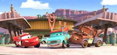 Should I Stay or Should I Go? — Lightning McQueen in Mater's Tall Tales Disney Cars Party, Car Party, How To Be Single Movie, The Cable Guy, Tow Mater, Should I Stay, Tall Tales, Thomas The Train, Lightning Mcqueen