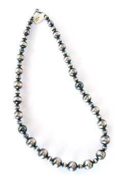 Large Navajo Pearl Necklace 23 https://cowgirlkim.com/collections/whats-new/products/large-navajo-pearl-necklace-23