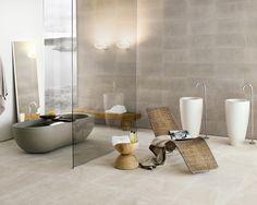 modern-badezimmer-badewanne-und waschbecken -design