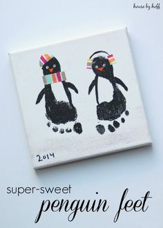 Super-Sweet Penguin Feet via House by Hoff