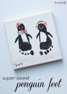 Super-Sweet Penguin Feet via House by Hoff