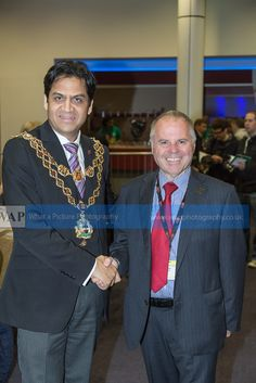 Shafique Shah, Lord Mayor of Birmingham and Brett Laniosh from the CAMRA National Executive, Birmingham Beer and Cider festival 2014 - What a Picture Photography