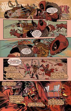 "mylambsellscondos: "" Wolverine by Rafael Grampa from Marvel: Strange Tales II """