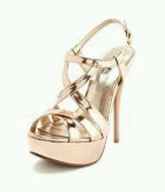 I finally settled on a gold shoe....CB