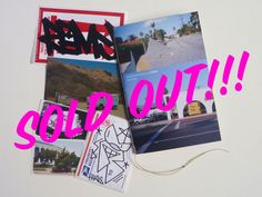 Remio / Clint Woodside Split Zine - Send Help Deadbeat Club #06