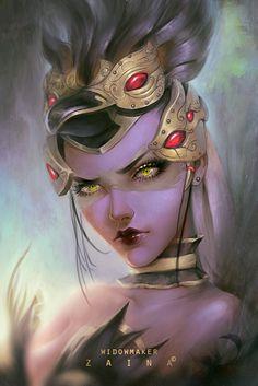 Widowmaker арт, Игры, overwatch, Widowmaker