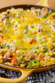 20 Healthy Mexican Recipes You Can Feel Good About :: As if giving up Mexican food was actually going to happen:: Cheesy Tex-Mex Cauli Rice mexican recipes Healthy Mexican Recipes, Low Carb Recipes, Cooking Recipes, Mexican Desserts, Cooking Tips, Mexican Cooking, Atkins Recipes, Freezer Recipes, Freezer Cooking