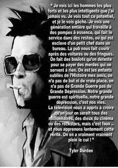 Pompe A Essence, Cogito Ergo Sum, Tyler Durden, Fight Club, Good Vibes Only, Sentences, Life Quotes, Positivity, Messages