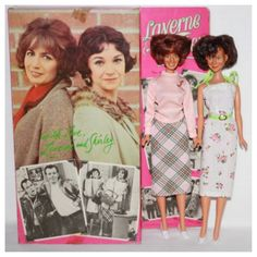 Laverne and Shirley Dolls, with Penny Marshall as Laverne and Cindy Williams as Shirley, 11 Dolls by Mego, 1977 Barbie And Ken, Barbie Dolls, Barbie Stuff, Dolls Dolls, Vintage Barbie, Vintage Dolls, Barbie Funny, Penny Marshall, Cindy Williams
