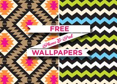 Free Inky Co. iPhone & iPad wallpapers now available