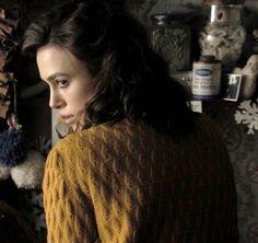 The Edge of Love - Keira Knightley wears mustard cardigan. I want!