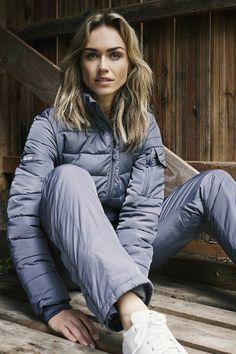 Puffer Jackets, Winter Jackets, Winter Suit, Snow Suit, Winter Outfits, Cool Style, Overalls, Jumpsuit, Suits