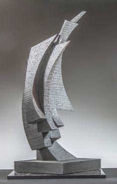 Original Abstract Sculpture by Richard Arfsten Water Sculpture, Steel Sculpture, Abstract Sculpture, Sculpture Art, Abstract Art, Abstract Portrait, Portrait Paintings, Art Paintings, Original Art