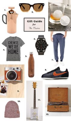 GWS hand-picked Gift Guide for your guy!