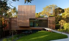 Kew House Entrance  by Vibe Design Group