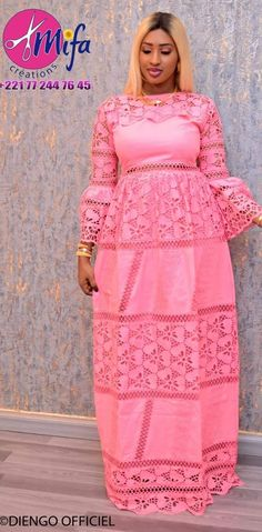 African Dresses For Women, African Attire, African Fashion Dresses, Senegalese Styles, Lace Dress Styles, African Traditional Dresses, Ethnic Dress, Sexy Outfits, Anna