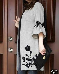 Best 12 Our females' vests and find elegant quilted gilets of highest-quality,… - Mode Frauen Abaya Fashion, Muslim Fashion, Fashion Dresses, Batik Fashion, Stylish Dresses, Modest Dresses, Casual Dresses, Mode Abaya, Iranian Women Fashion