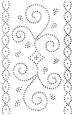 Paper Embroidery Patterns 021 Photo: This Photo was uploaded by madjara. Find other 021 pictures and photos or upload your own with Photobucket free image and video hosting servi. Tin Can Art, Tin Art, Paper Embroidery, Embroidery Patterns, Dot Patterns, Hand Quilting Patterns, Clothes Patterns, Dress Patterns, Tin Can Crafts