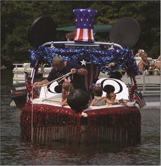 American Pride returns to Lake Wedowee July 4 ~ Lake Wedowee Life Magazine: Lake Wedowee Fourth of July Boat Parade