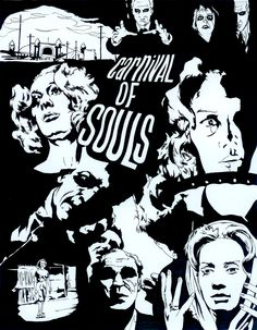 Carnival of Souls.  This movie scared the hell out of me !!! Everywhere she went or turned these soul creepy spirits would pop out at her!!! Ahhhh!