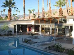 Palm Springs House Rental: Stunning Original Mid-century Classic In Deepwell | HomeAway