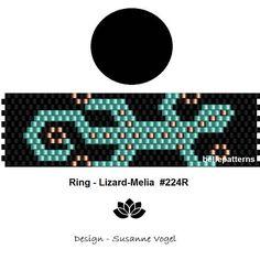 peyote ring patternPDF-Download 224R beading pattern
